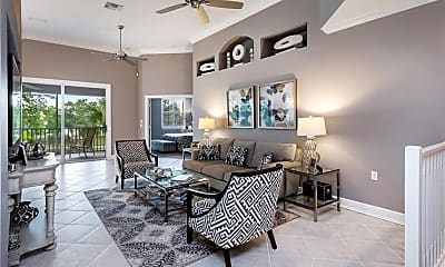 Living Room, 6803 Ascot Dr 201, 1