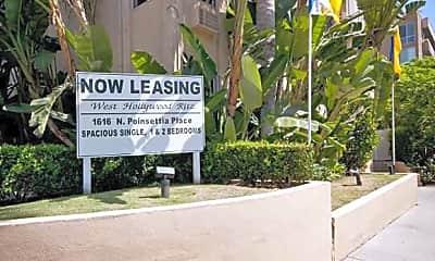 Community Signage, West Hollywood Ritz, 0