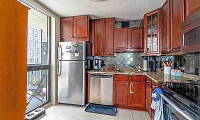 Kitchen, 33 W Delaware Pl 10B, 1