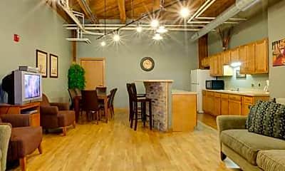 Living Room, Knitting Factory Lofts, 0