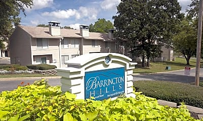 Community Signage, Barrington Hills Apartment Homes, 0