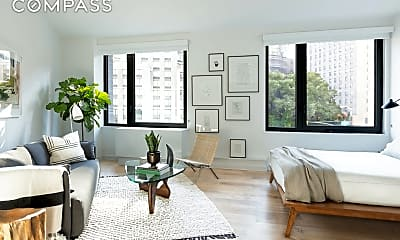 Living Room, 445 W 35th St 7-K, 0