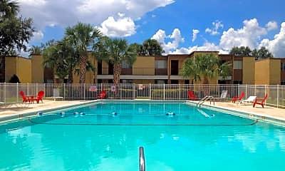 Pool, Landon Imperial Apartments, 1