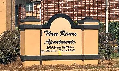 Three Rivers Apartments, 1