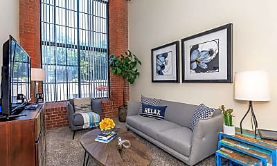 Living Room, Lofts At The Mills, 0