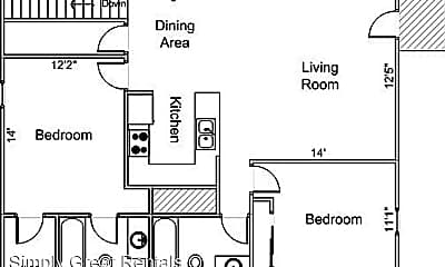 Building, 2931 King James Way, 2