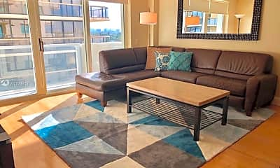 Living Room, 9499 Collins Ave 809, 0