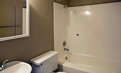 Bathroom, Oxford Apartments, 2