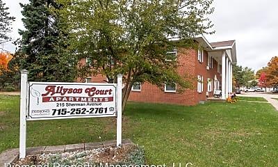 Community Signage, 215 Sherman Ave, 1