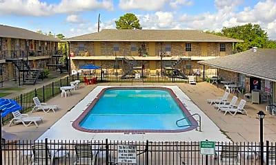 Pool, Sugar Mill Apartments - MS, 1