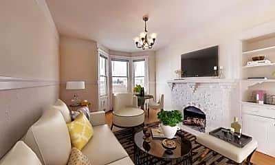 Living Room, 2539 Polk St, 0