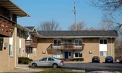 Building, Arbor Apartments, 0