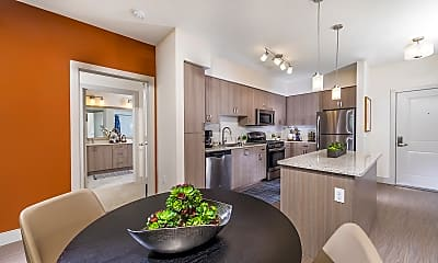 Kitchen, 808 West Apartments, 1