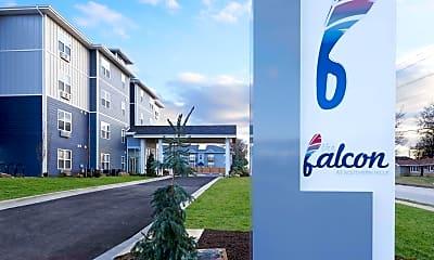 Building, The Falcon Apartments, 0