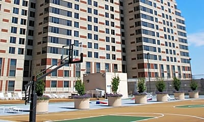 Building, Plaza Towers Apartments, 1
