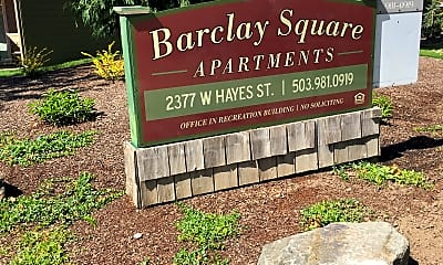 Barclay Square Apartments, 1