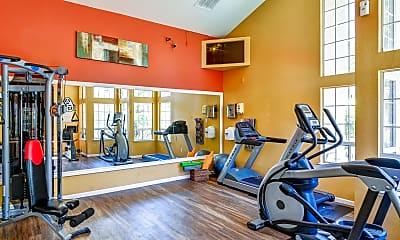 Fitness Weight Room, The Commons, 1