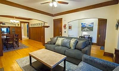 Living Room, 2617 N Maryland Ave, 2