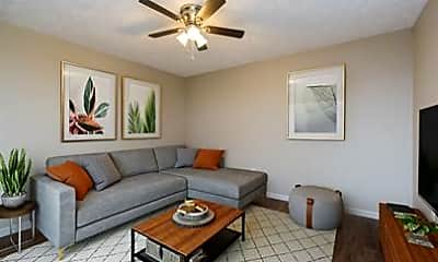 Living Room, 431 Garden City Dr, 0