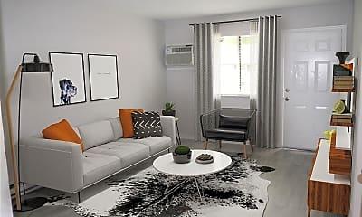 Living Room, Alder Terrace, 1