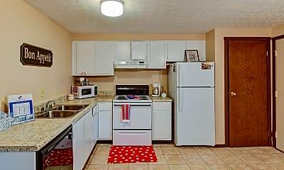 Kitchen, Worthington Commons, 1