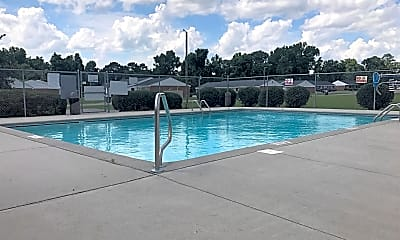 Pool, Lauradale Apartments, 2