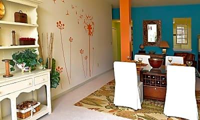Living Room, Clocktower Place, 1