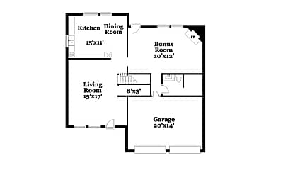 Building, 4150 Riverbank Ct, 1