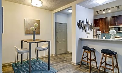 Dining Room, Belara Apartments, 1