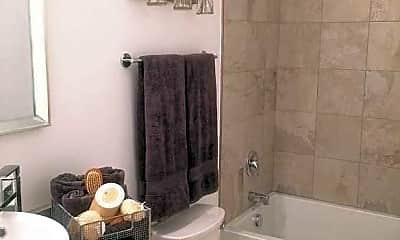 Bathroom, Haywood Village Apartments, 2