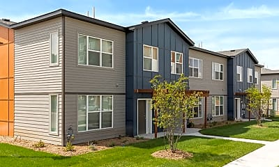 Building, The Liberty Apartments & Townhomes, 1