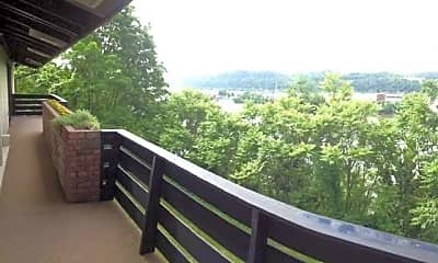 Patio / Deck, Cliffside Manor Apartments, 2
