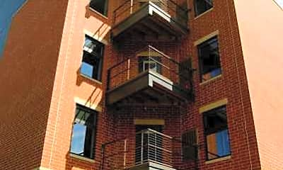 Building, Brooks House Apartments, 1