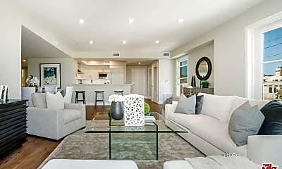 Living Room, 1500 S Beverly Dr 302, 1