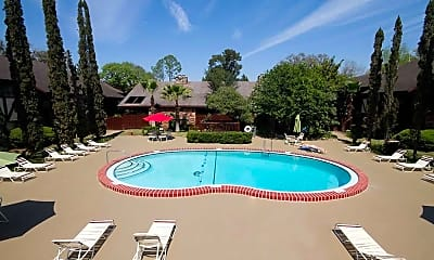 Pool, Camelot Apartments, 0