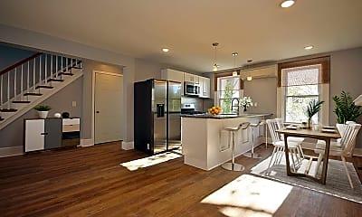 Kitchen, 131 Lander St, 1