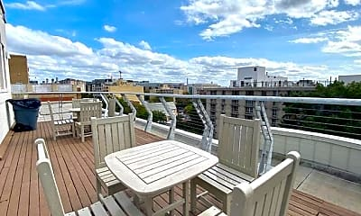 Patio / Deck, 2515 K St NW 807, 0