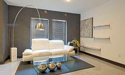 Living Room, The District Apartments, 0