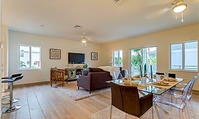 Living Room, 603 NE 28th St 4, 0