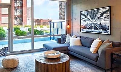 Living Room, 1439 S Michigan Ave, 0