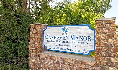 Community Signage, Oakhaven Manor, 2