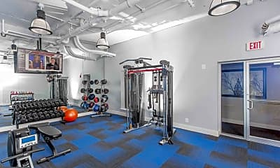 Fitness Weight Room, 2026 Market St, 1