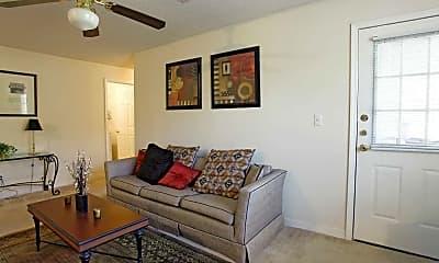 Living Room, Oak Hollow, 1