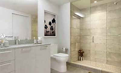 Bathroom, 1500 Bay Rd N-808, 1
