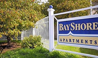 Community Signage, Bayshore Apartments, 2