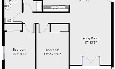 Building, 1080 Pennington, 2