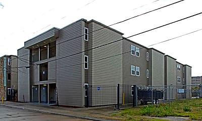 Building, North Rampart Apartments, 1