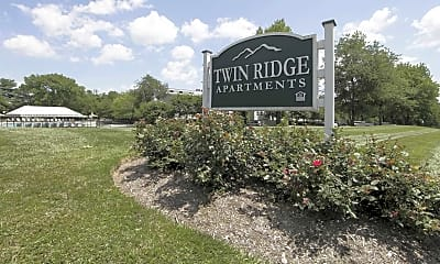 Community Signage, Twin Ridge Apartments, 2