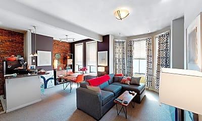 Living Room, 23 Cortes Street, Unit 8, 0