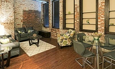 Living Room, Bosche Lofts, 0